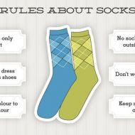 12 Basic Rules to wear Socks Perfectly like a Pro