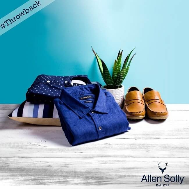 allen solly top international fashion brands in india