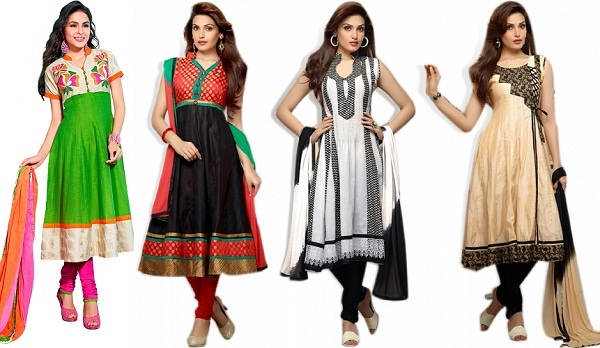 Cotton Anarkali Dresses