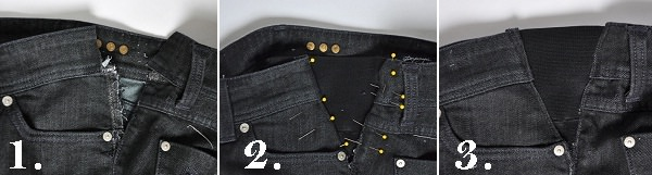 DIY to Extend Jeans and Trousers