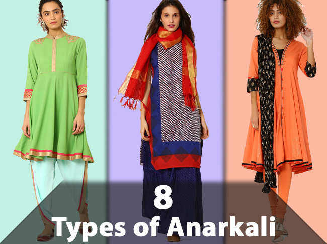 8 Types to look for when Buying Anarkali Suits & Dresses - LooksGud.in