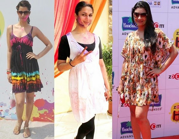 Summer Dresses for Holi