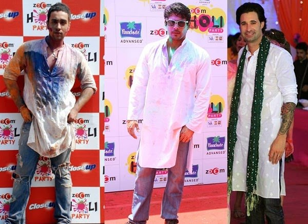 Kurta and Jeans for Holi