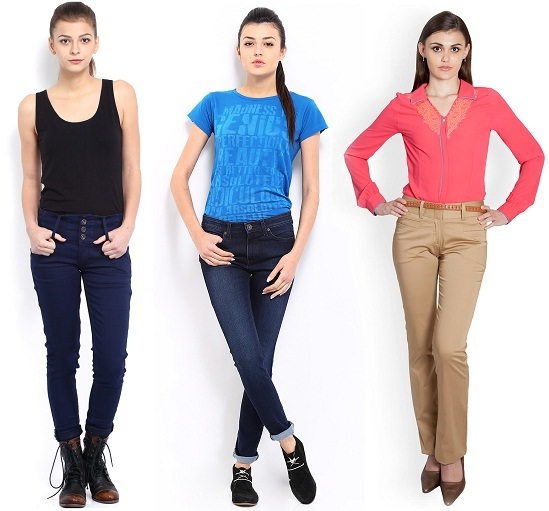 Jeans and Trousers for Petite Girls