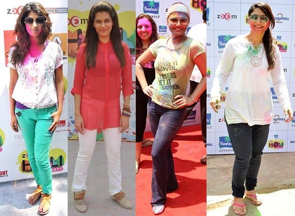 Jeans for Holi party