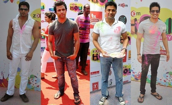 fashion of Men's jeans for holi