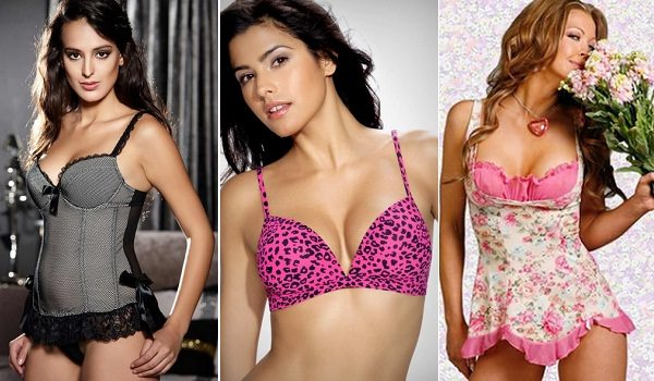 hot Lingerie with trims and prints