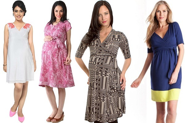 Wrap Dresses for Pregnancy