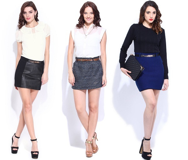 Short and mini-skirts