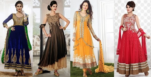 Party Wear Anarkali Dresses