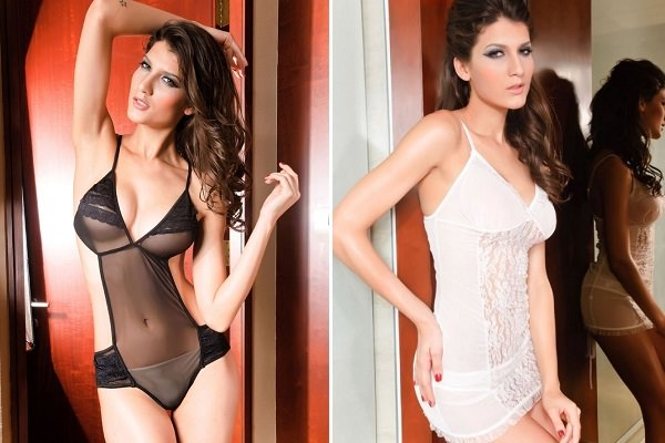 Teddy and Chemise lingerie for Hourglass Figure