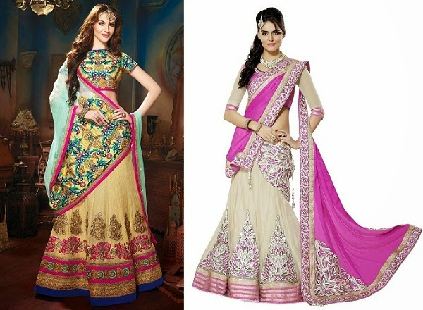 A-line lehenga to avoid if you are rectangle shaped