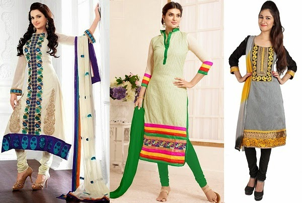 A-line salwar kameez and kurti  to avoid if you have rectangle body shape