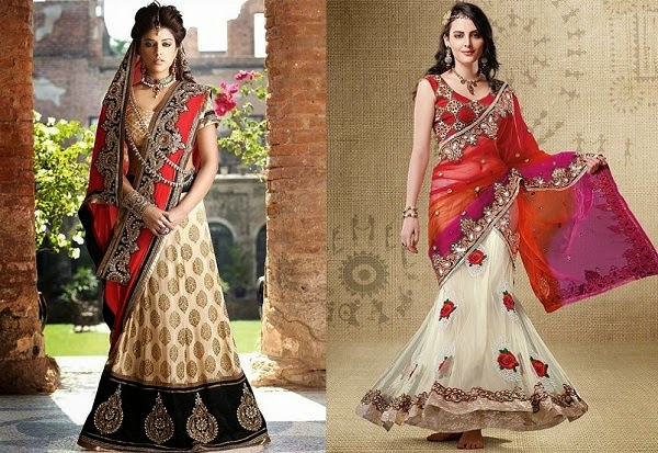 Image result for What Is The Lehenga Saree & Why Is It So Special?