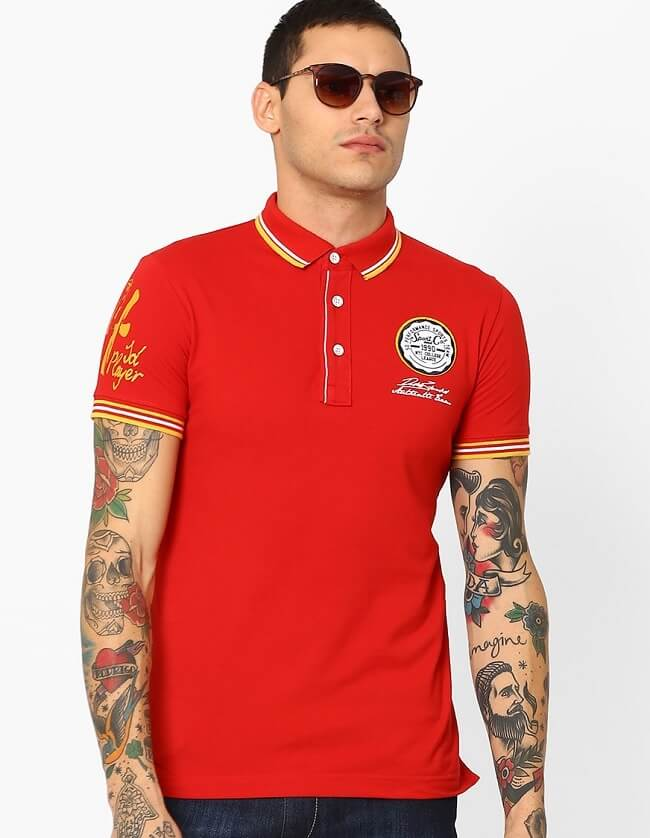 10 best brands to buy online polo neck t-shirt for men
