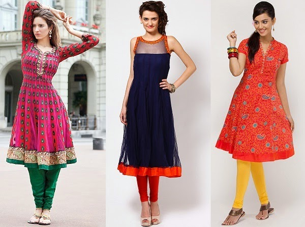 kurti to complement hourglass figure