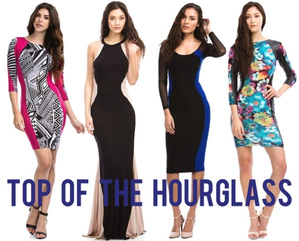 Tight dress ideas for Hour glass shaped body