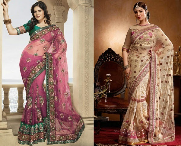 net sarees to avoid if you are apple shape