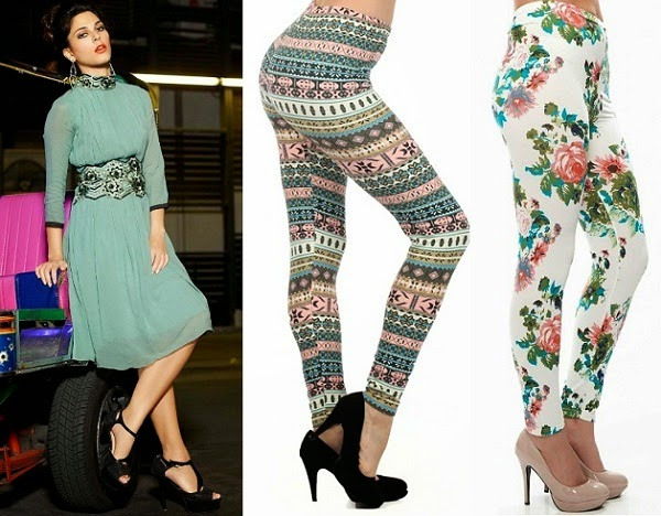 belted kurti for wear with printed leggings