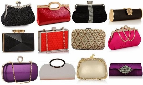 Variety of Clutches to carry with saree