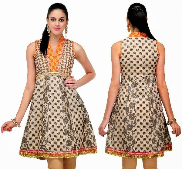 10 Best Floral Print Cotton Kurtis Looksgud In