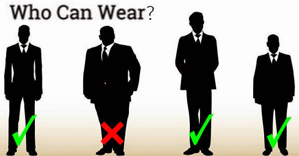 men who can wear skinny tie