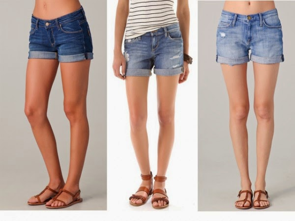 Roll-Up Shorts