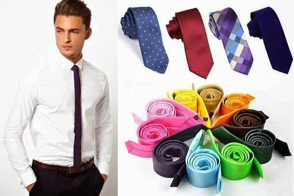 0b4bfa265aae Rules of Wearing Skinny Ties in Perfect Way for Men - LooksGud.in