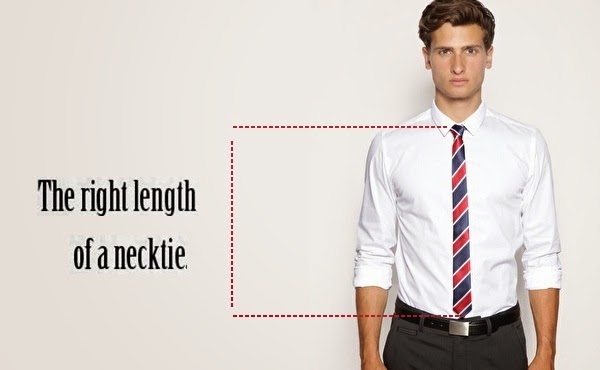 perfect length of tie