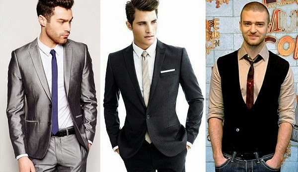 European cut suits for skinny tie