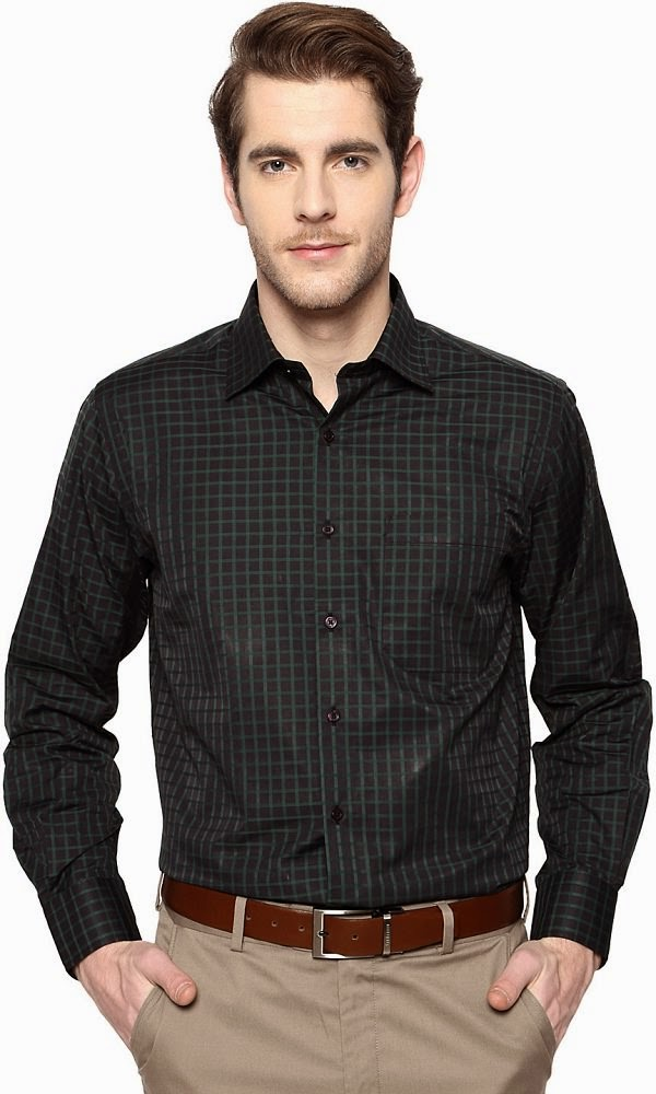 11 best formal shirts for men to wear in summer for Black tuxedo shirt for men