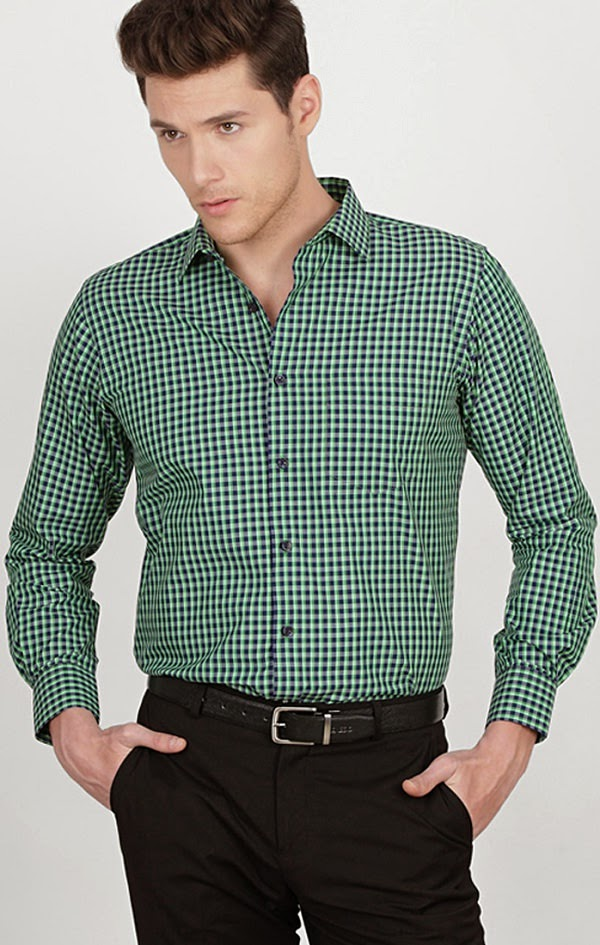 Formal shirts for men peter england
