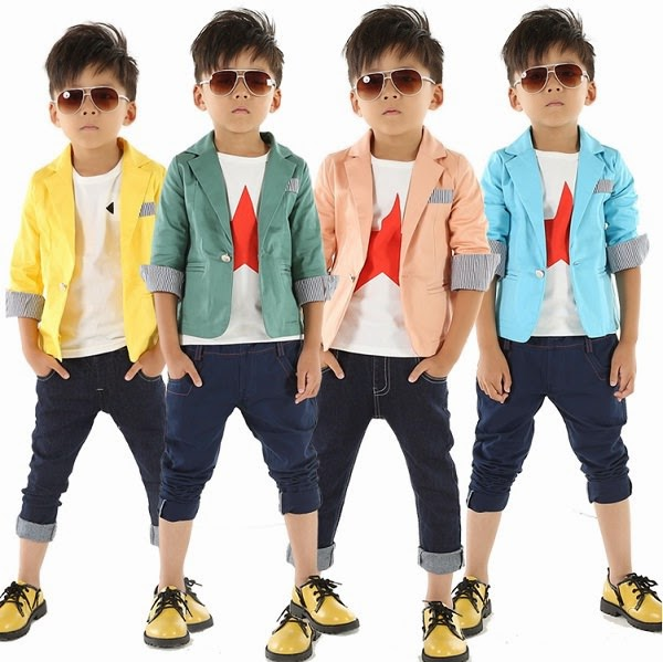 colorful boy jackets