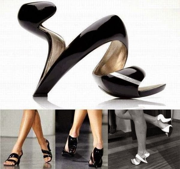 trendy spiral shoes