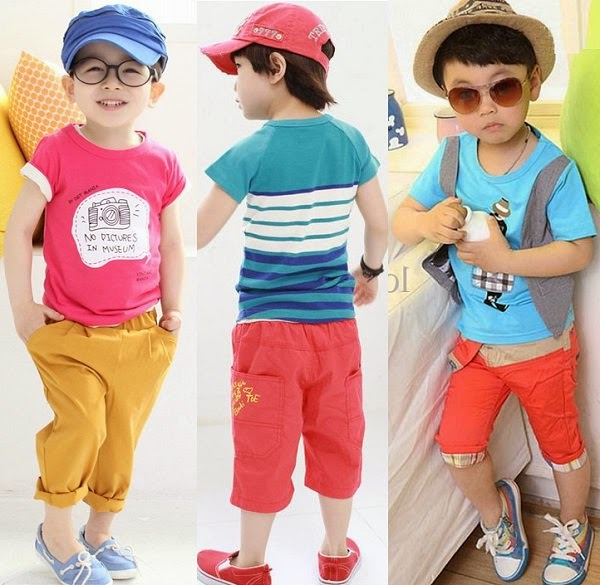cool cotton clothes for baby boy