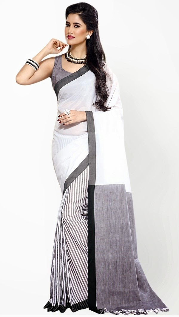 Buy Aura cotton saree online at amazon.in