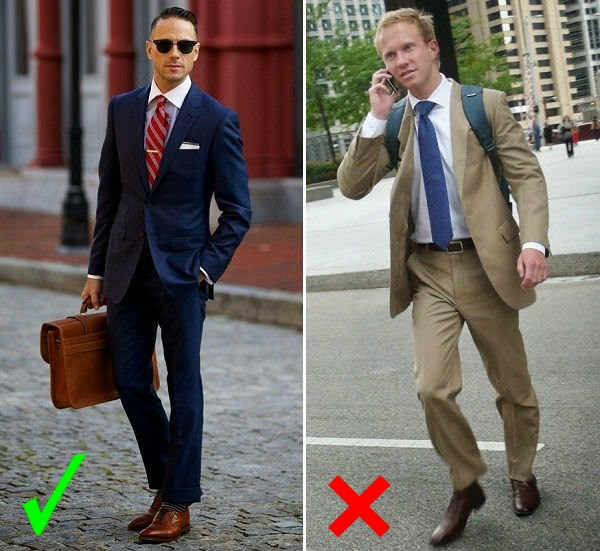 15 Common Mistakes Men Make In Wearing Suits Looksgud In