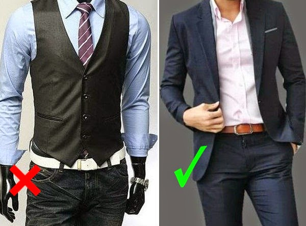 casual belt vs. dress belt