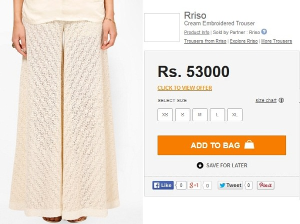 most overpriced items india