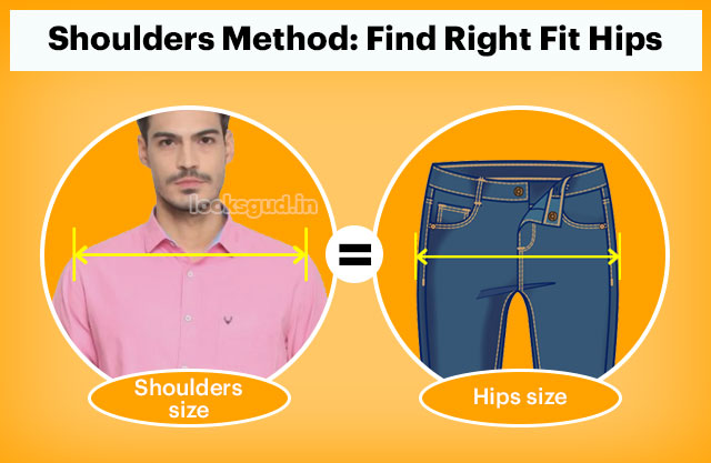 How buy jeans that fit properly on hip, hip size hack for jean without trial