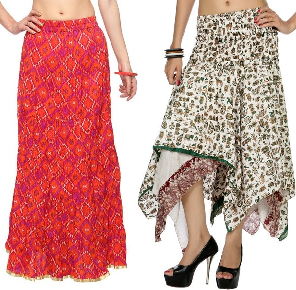 style tips for long skirts