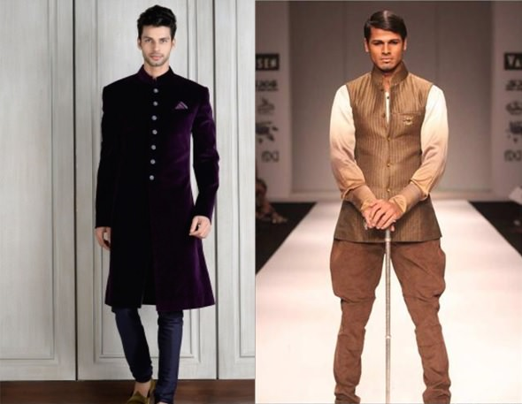 Chididar and pants for stouts or the Heavy Body Types men for wedding