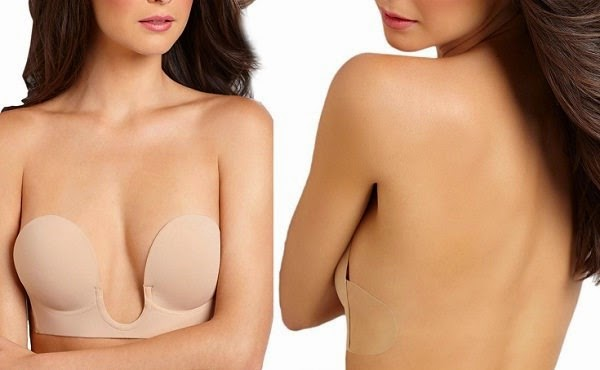 U Plunge Backless Strapless Bra for Backless and Plunging Neckline Dresses