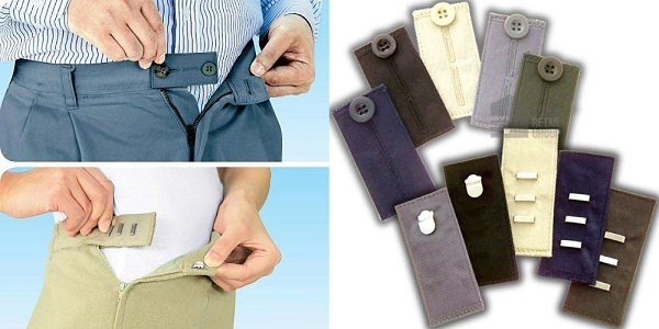 Waist Extenders for jeans, trousers and skirts