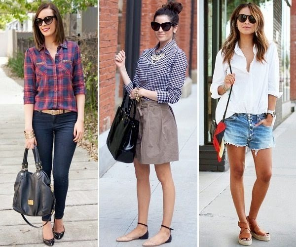 shirt outfits for women