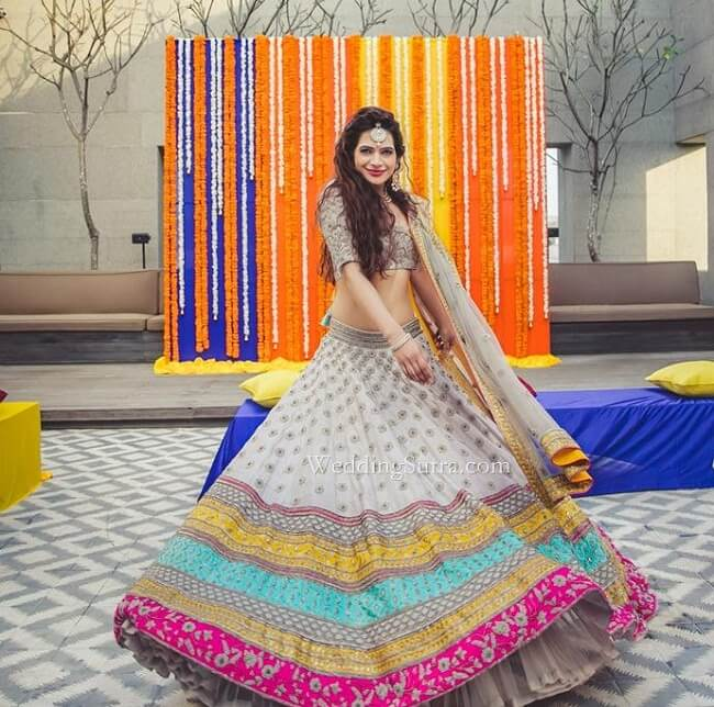 ed311f8e5 8 Types of Lehengas to Flare your Ethnic Look - LooksGud.in