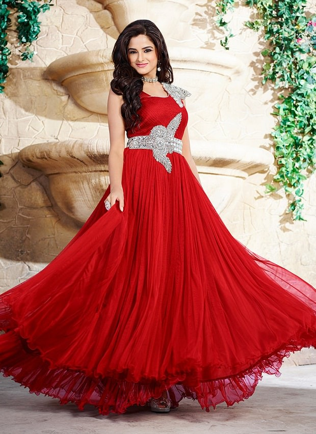 A-Line ethnic Gown style for Wedding