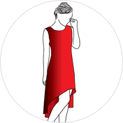 C-Cut kurti clipart drawing