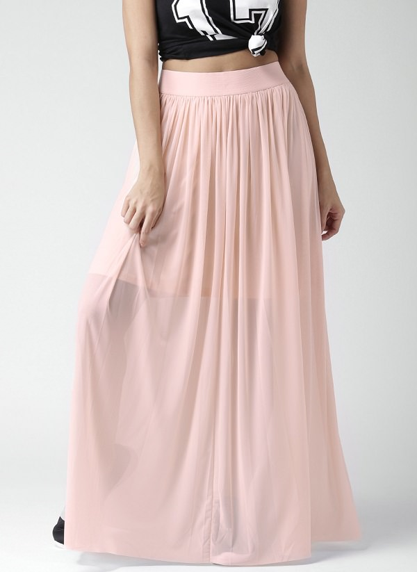 maxi-skirt, long maxi skirts, types of skirts for body types