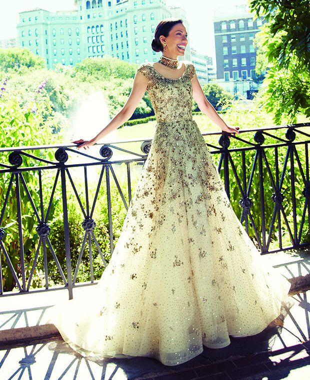 Princess style type gown